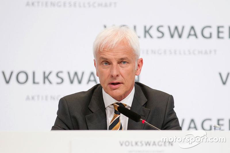 Маттіас Мюллер, Volkswagen CEO