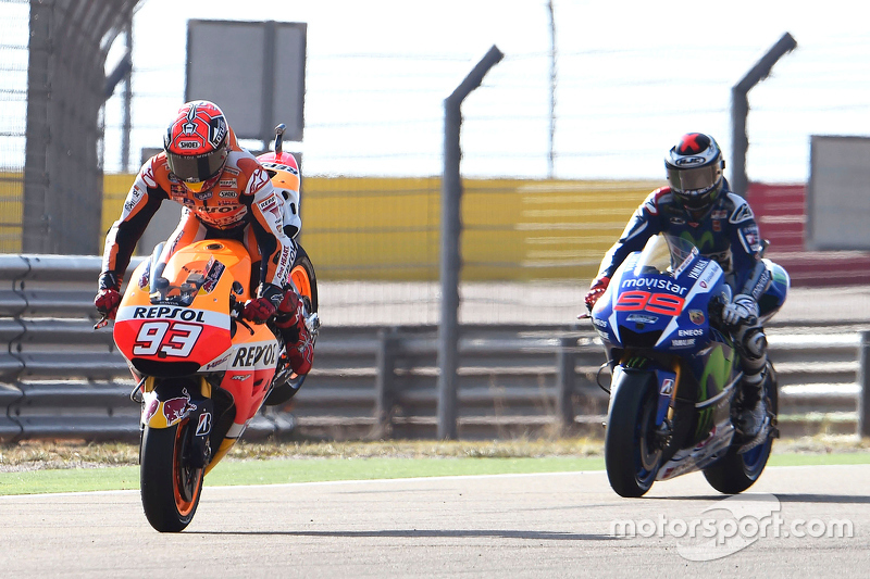 Марк Маркес, Repsol Honda Team та Хорхе Лоренцо, Yamaha Factory Racing