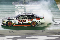Race winner Ryan Blaney, Team Penske Ford
