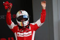 Третье место - Себастьян Феттель, Ferrari