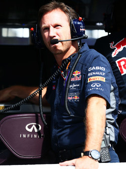 Christian Horner, Red Bull Racing Director del equipo