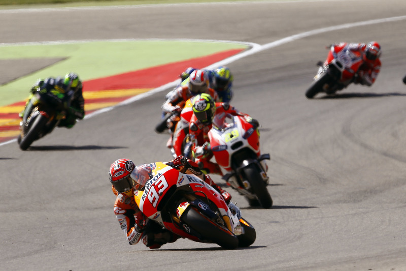 Марк Маркес, Repsol Honda Team та Андреа Янноне, Ducati Team
