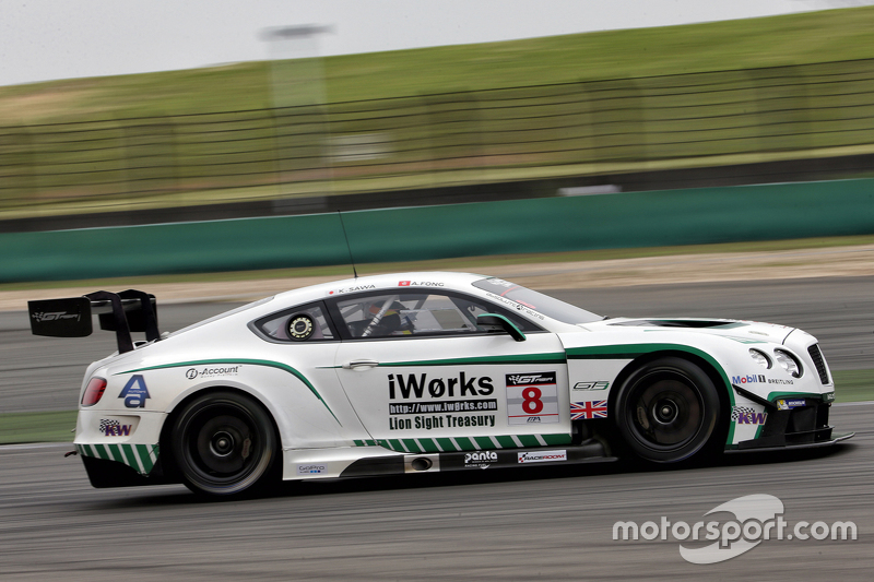 #8 Absolute Bentley GT3: Keita Sawa, Аддерлі Фонг