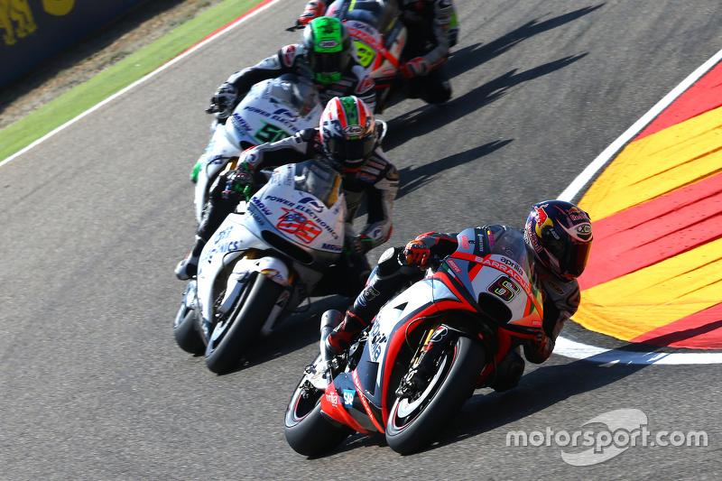 Stefan Bradl, Aprilia Racing Team Gresini e Nicky Hayden and Eugene Laverty, Aspar MotoGP Team