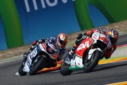 Jack Miller, Team LCR Honda; Hector Barbera, Avintia Racing