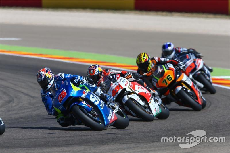 Маверік Віньялес, Team Suzuki MotoGP та Джек Міллер, Team LCR Honda та Лоріс Баз, Forward Racing Yamaha