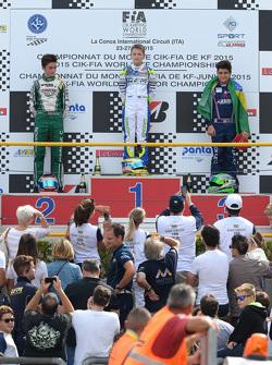 Caio Collet sur le podium