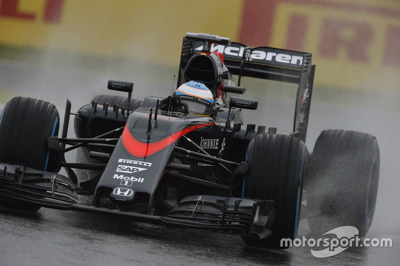 Fernando Alonso, McLaren MP4-30