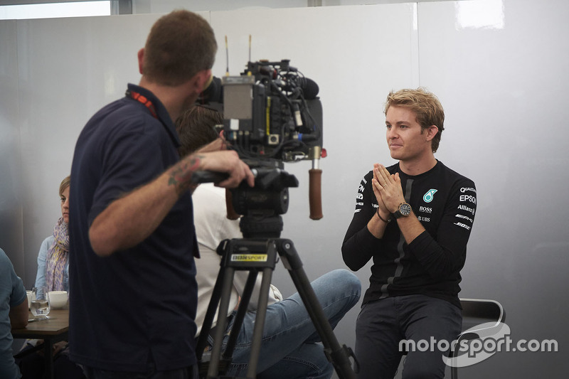 Ніко Росберг, Mercedes AMG F1 з медіа