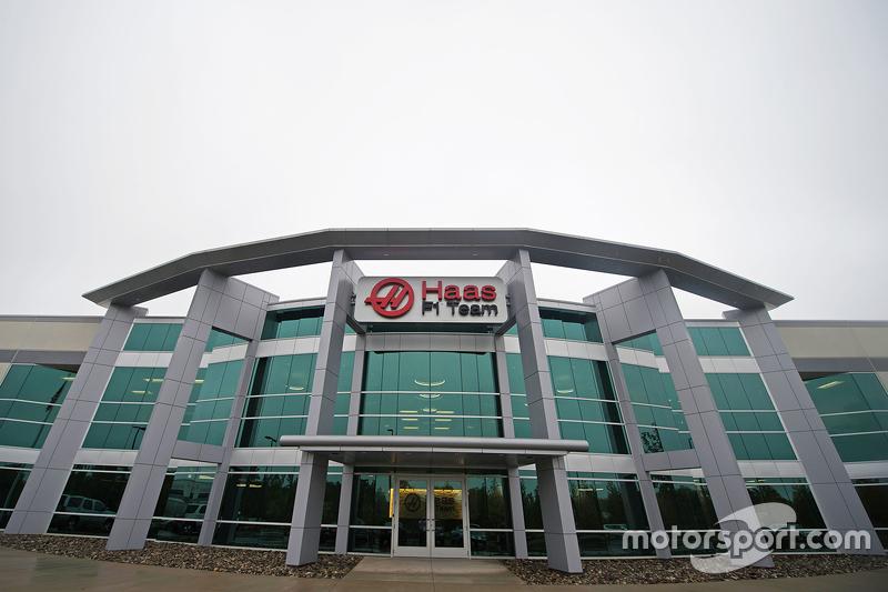 Штабквартира Haas F1 Team