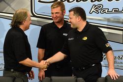 Gene Haas, Clint Bowyer et Tony Stewart, Stewart-Haas Racing