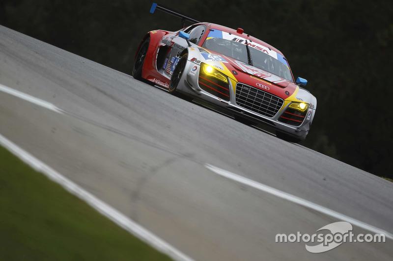 #45 Flying Lizard Motorsports Audi R8 LMS: Guy Cosmo, Robert Thorne, Colin Thompson