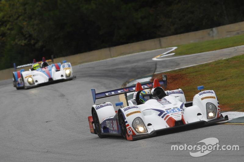 #54 CORE autosport Oreca FLM09: Джон Беннетт, Колін Браун, Anthony Lazzaro