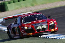 #1 C. Abt Racing, Audi R8 LMS ultra: Kelvin van der Linde, Stefan Wackerbauer