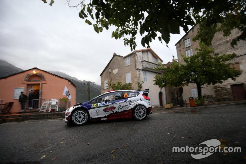 Bryan Bouffier та Xavier Panseri, Ford Fiesta WRC