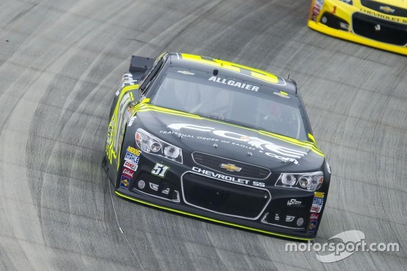 Justin Allgaier Hscott Motorsports Chevrolet
