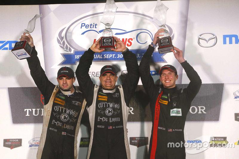 PC class winners ##52 PR1 Mathiasen Motorsports Oreca FLM09: Mike Guasch, Tom Kimber-Smith, Andrew P