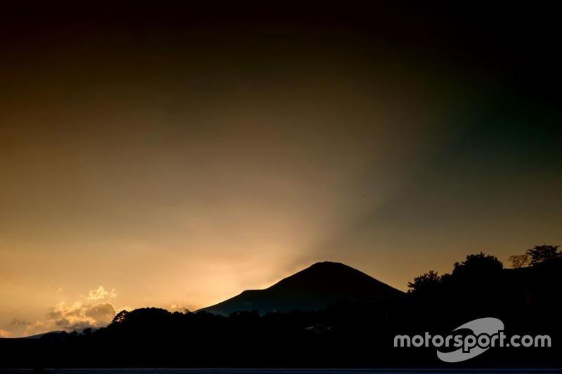 Dämmerung am Fuji Speedway
