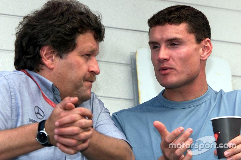 Norbert Haug, dan David Coulthard, McLaren