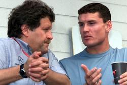 Norbert Haug and David Coulthard, McLaren
