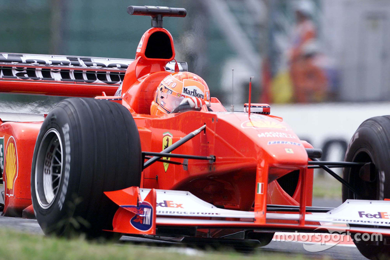 2000 - Suzuka: Michael Schumacher, Ferrari F1-2000