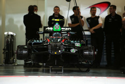 McLaren MP4-30 von Jenson Button in der Box