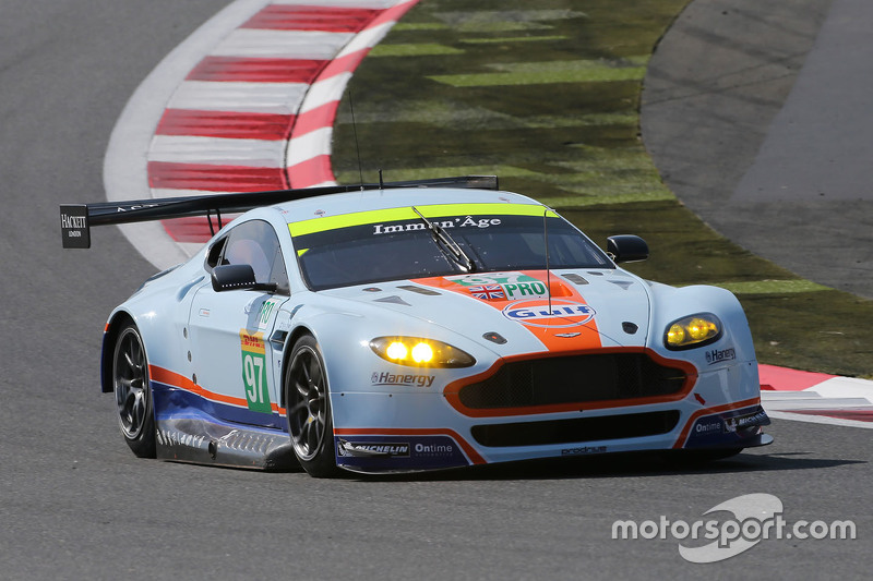 Aston Martin Vantage GTE: Даррен Тернер, Джонатан Адам