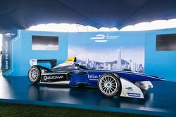 Auto de fórmula E en Hong Kong