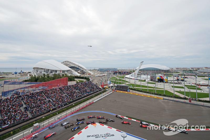 2014: Circuito internacional de Sochi