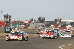 Guillermo Ortelli, JP Racing Chevrolet, Matias Rossi, Donto Racing Chevrolet, Juan Pablo Gianini, JPG Racing Ford