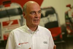 Dr. Wolfgang Ullrich, kepala dari Audi Sport