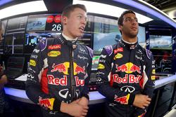 Даниил Квят, Red Bull Racing и Даниэль Риккардо, Red Bull Racing