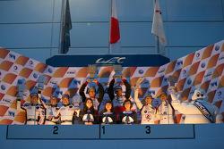 2015亚洲勒芒系列赛富士站领奖台