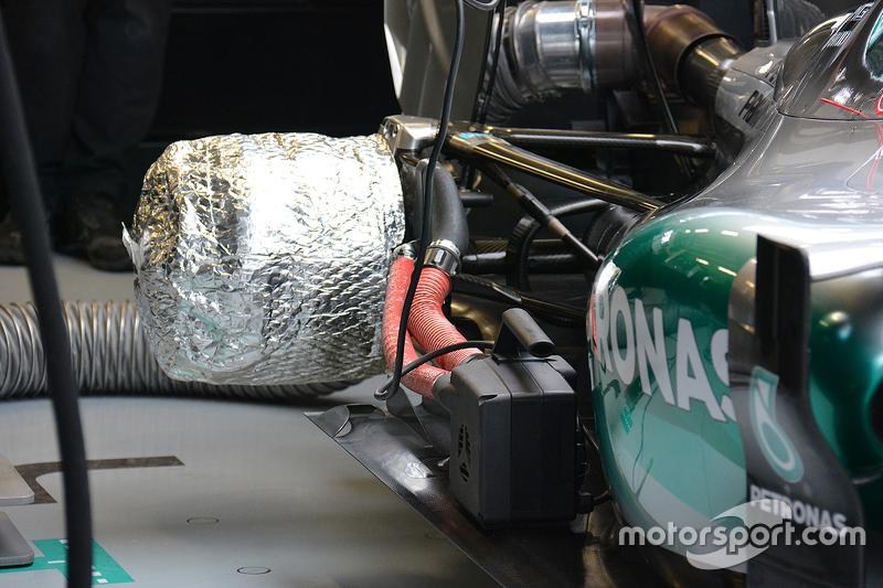 Mercedes fren ısıtıcıları