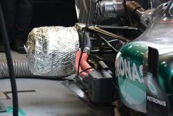 Mercedes brake warmers
