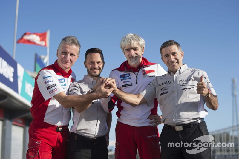 Aspar MotoGP resmi duyurusu: Paolo Ciabatti, Gino Borsoi, Gigi Dall'Igna ve Jorge Martinez