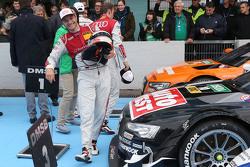 Le vainqueur Timo Scheider, Audi Sport Team Phoenix Audi RS 5 DTM
