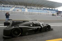 Pierre Fillon, presidente dell'ACO testa la Ligier JS P3 - Nissan