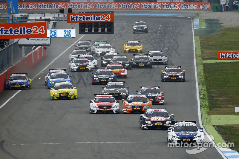 Start: Maxime Martin, BMW Team RMG BMW M4 DTM leads