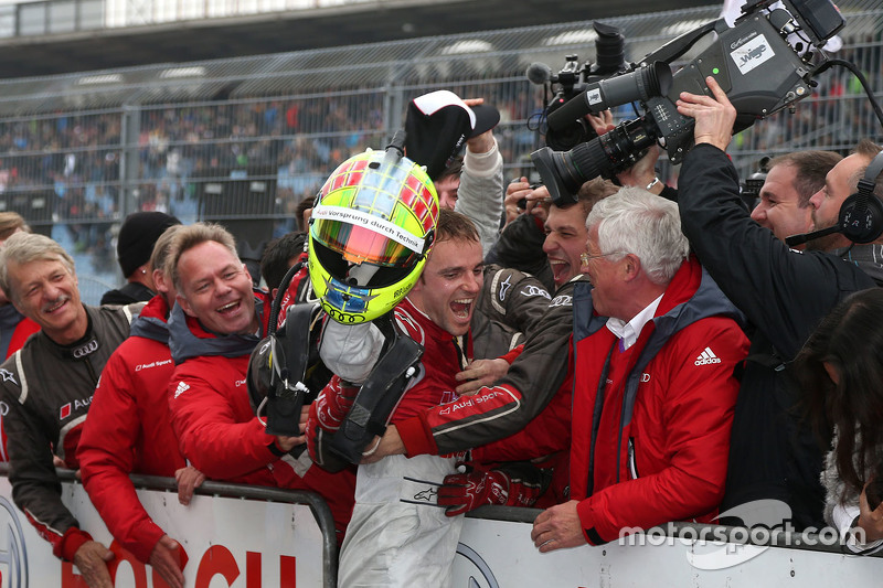 Race winner Jamie Green, Audi Sport Team Rosberg Audi RS 5 DTM