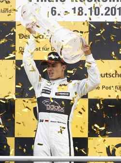 Championship podium: Pascal Wehrlein, HWA AG Mercedes-AMG C63 DTM