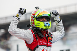 Winner, Jamie Green, Audi Sport Team Rosberg Audi RS 5 DTM