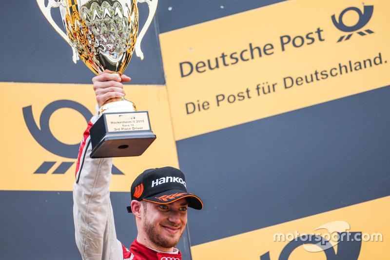 3rd Edoardo Mortara, Audi Sport Team Abt Audi RS 5 DTM