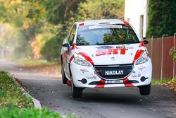 Николай Грязин и Ярослав Фёдоров, Peugeot 208 R2