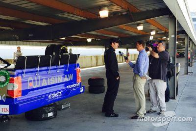 Ross Kenseth Hattori Racing Enterprises testi