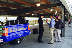 Ross Kenseth test with Hattori Racing Enterprises