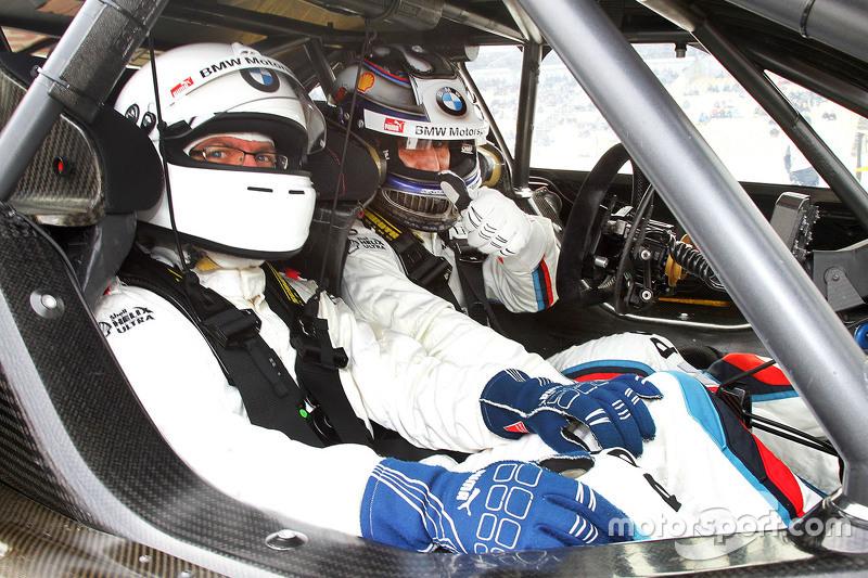 Motorsport.com Germany's Stefan Ziegler with Alex Zanardi