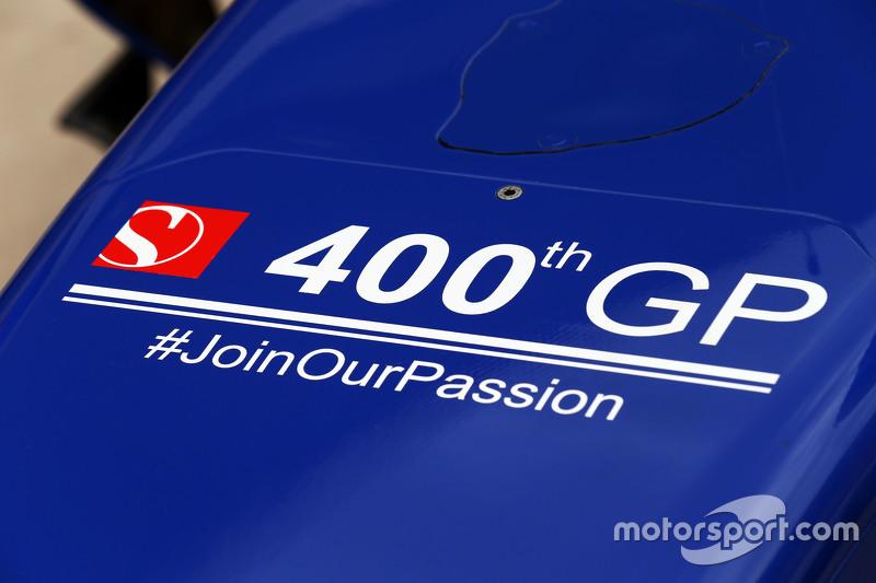 فريق ساوبر يحتفل بسباقه الـ400 في الفورمولا واحد