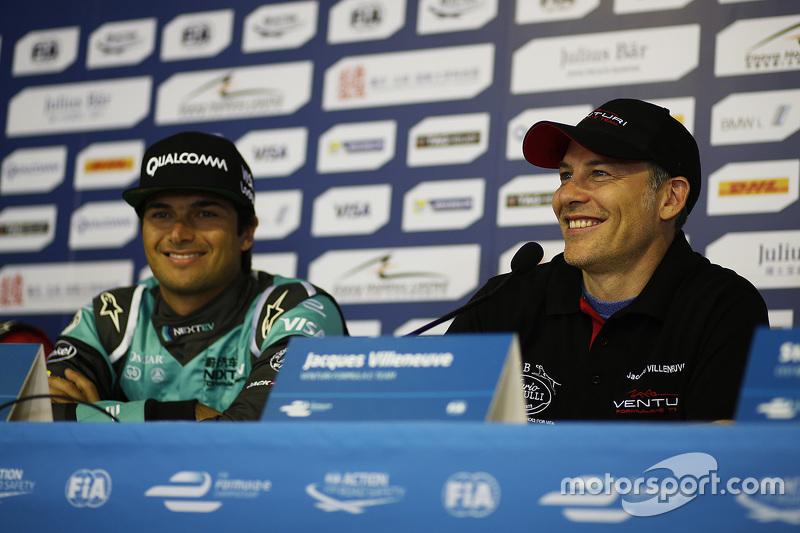Nelson Piquet Jr., NEXTEV TCR Formula E Team y Jacques Villeneuve, Venturi