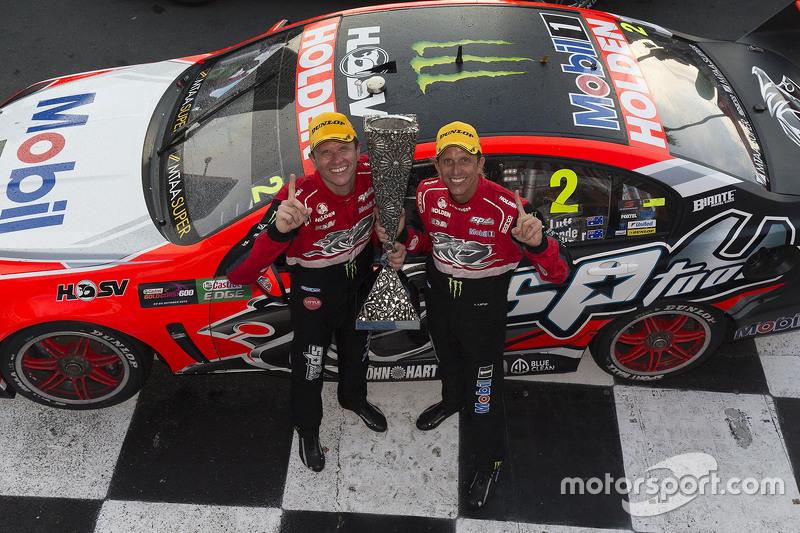 Pirtek Endure Cup winners Garth Tander and Warren Luff, Holden Racing Team